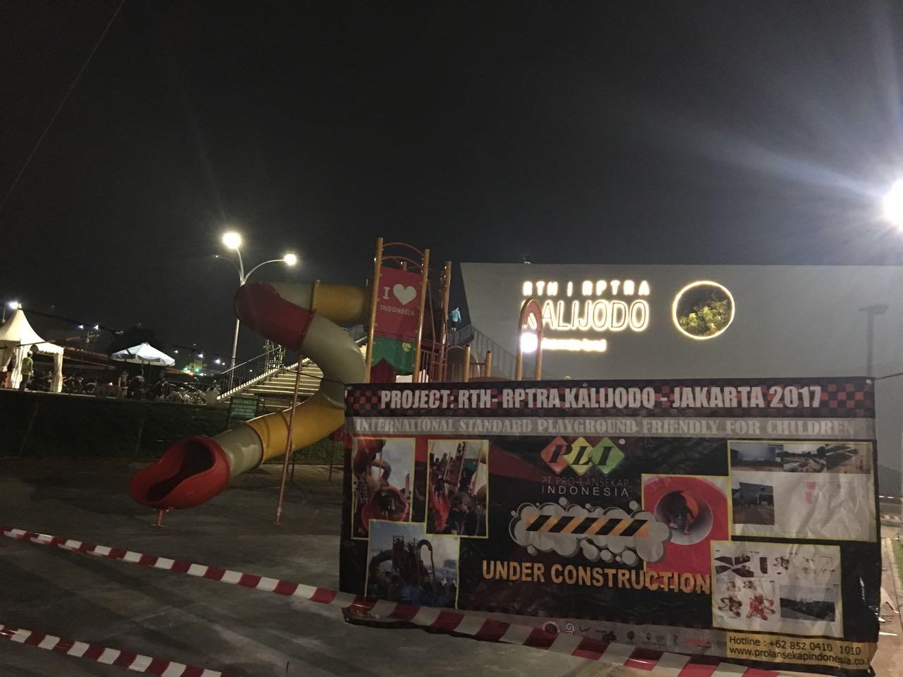 PROJECT  RTH – RPTRA KALIJODO – JAKARTA 2017