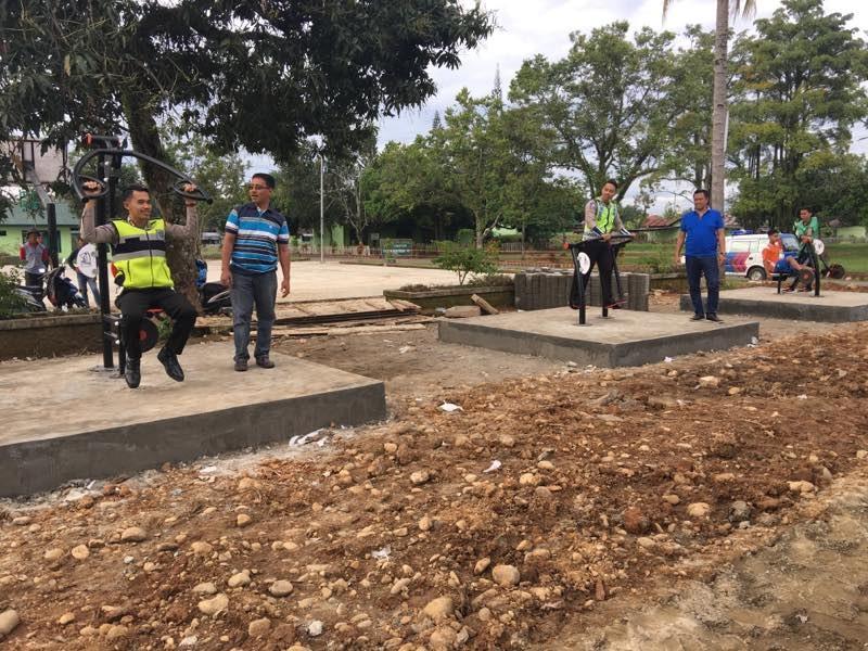 Outdoor Gym Pertama di Lubuk Linggau, Sumatera Selatan