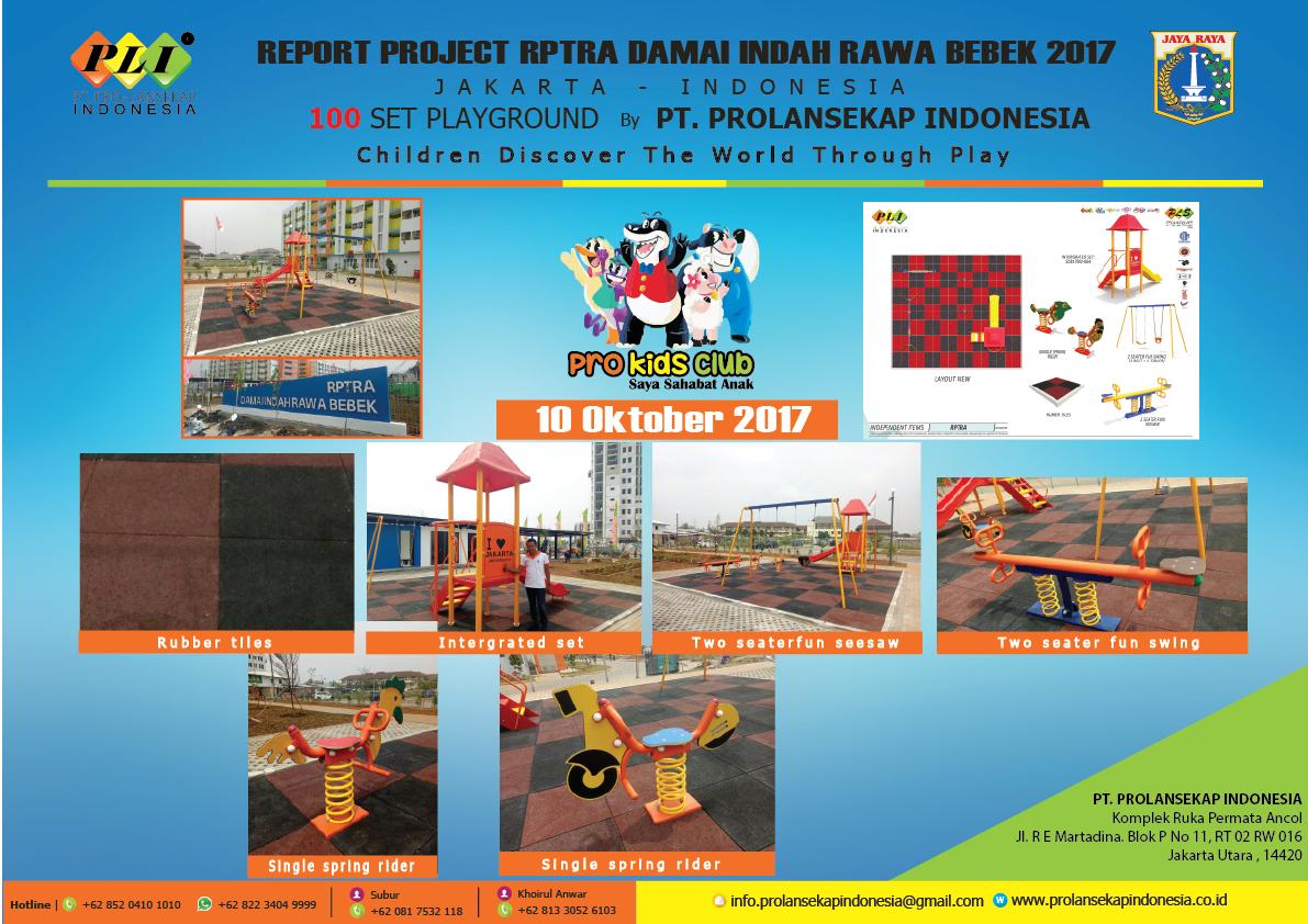 REPORT PROJECT RPTRA DAMAI INDAH RAWA BEBEK 2017